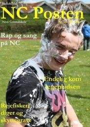 Rap og sang på NC Endelig kom legepladsen - Nivå Skole