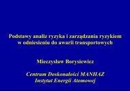 prezentacja - MANHAZ - Instytut Energii Atomowej