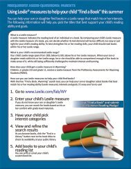 Download the Parent's FAQ here