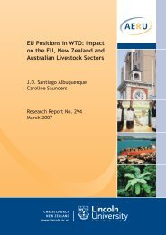 AERU EU Positions in WTO: Impact on the EU, New Zealand and ...