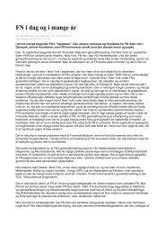 FN idag og i mange år (pdf) - Digital Undervisning