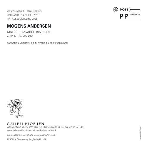 Hent udstillingskatalog [pdf] - Galleri Profilen