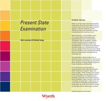 Present State Examination - Psykiater.nu