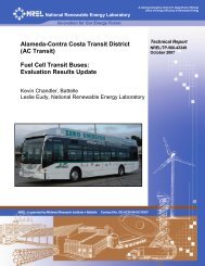 Alameda-Contra Costa Transit District Fuel Cell Transit Buses - NREL