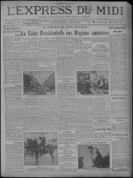 10 mars 1930 - Bibliothèque de Toulouse