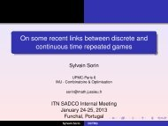 On some recent links between discrete and continuous time ...