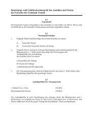Benutzungs- und Gebührenordnung für das Ausleihen ... - Amt Crivitz