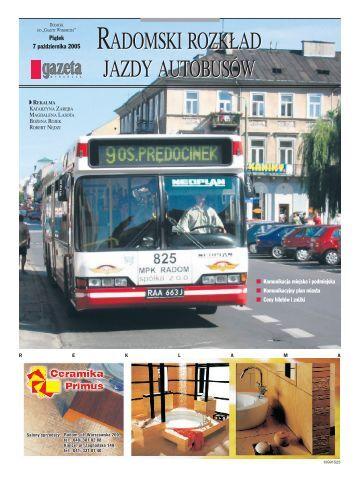 radomski rozkład jazdy autobusów radomski rozkład ... - Gazeta.pl