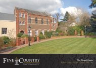 The Chapel House Palace Gate | Exeter | Devon ... - Fine & Country