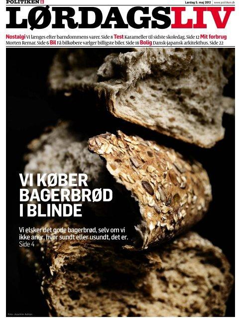 VI KØBER BAGERBRØD I BLINDE - Hinge Thomsen