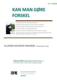 KAN MAN GØRE FORSKEL - ww.lovlosetidende.mono.net
