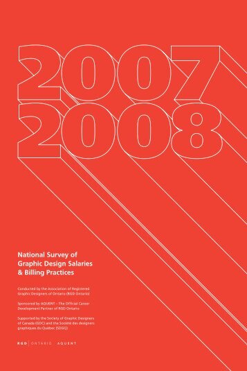 National Survey of Graphic Design Salaries & Billing Practices