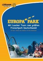 Mit Loacker Tours zum größten Freizeitpark Deutschlands!