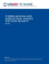 Rural and Agriculture Finance.pdf - Economic Growth - usaid