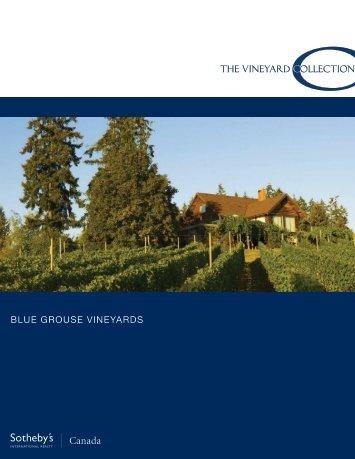 blue grouse vineyards - Ubertor
