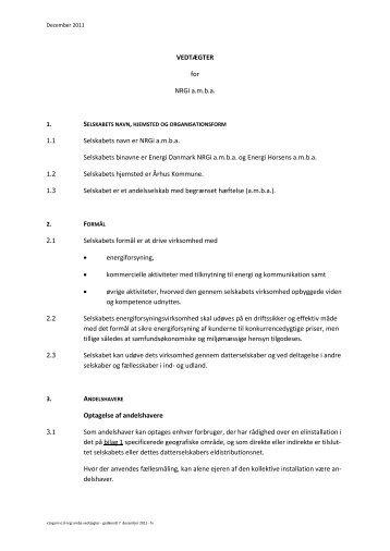 Standardskabelon Holst Advokater - NRGi