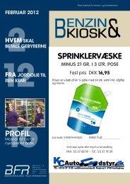 SPRINKLERVÆSKE - Benzinforhandlernes Fælles Repræsentation