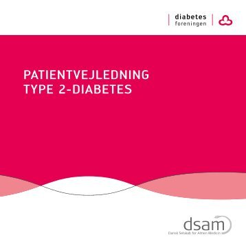 Patientvejledning type 2 diabetes - DSAM