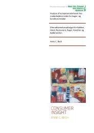 Analyse af kompetencebehovet hos medarbejdere inden for bager ...