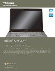 A205-S4797 Data Sheet.indd - TigerDirect.com