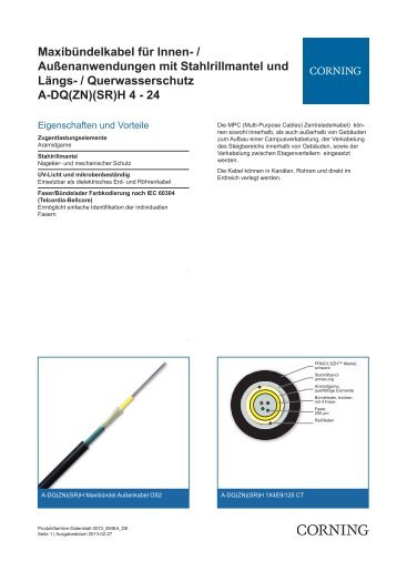 Querwasserschutz A-DQ(ZN)(SR)H 4