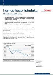 Se her home husprisindeks for maj 2013 med grafer (pdf)