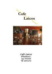 Cafe Laicos - Ikast-Brande Kommune