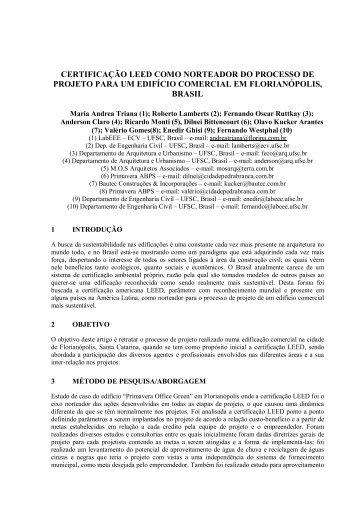 download - Laboratório de Eficiência Energética em Edificações
