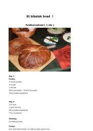 1:Et bibelsk brød - Vor Frue Sogn,Kalundborg