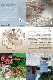 kulinariske oplevelser på Langeland