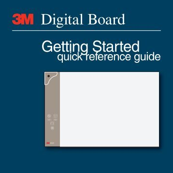 3M Digital Board Instruction Manual