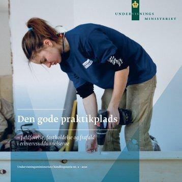 Den gode praktikplads – fuldførelse, fastholdelse og frafald - Emu
