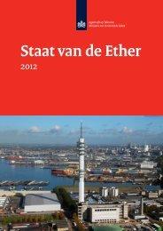 Staat van de Ether 2012 - Agentschap Telecom