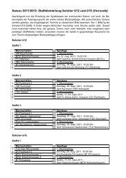 11-12-Staffeleinteilung U12+U15_ 20110630