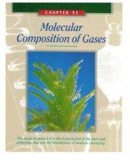 Molecular Composition ofGases