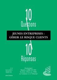 Jeunes entreprises : gérer le risque clients - Association Française ...