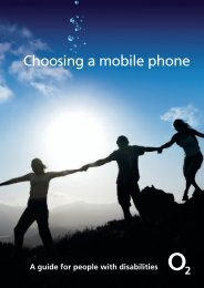 Choosing a mobile phone - O2 Family