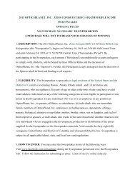 2013 opticsplanet, inc. zeiss conquest hd5 2 ... - OpticsPlanet.com