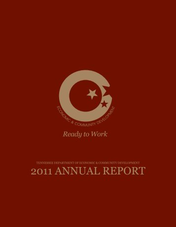 ECD 2011 Annual Report - TN.gov