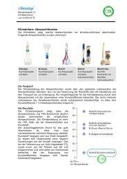 Factsheet - Climatop