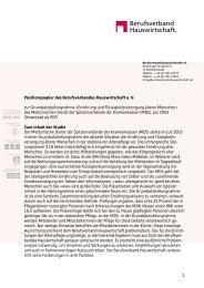 Download als PDF - Berufsverband Hauswirtschaft