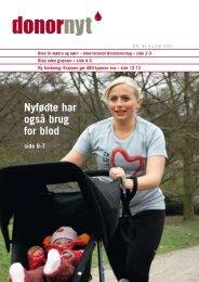 Donor Nyt - Nr. 85 - Bloddonorerne i Danmark