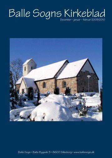 December - Januar - Februar 2009/2010 - Balle Kirke