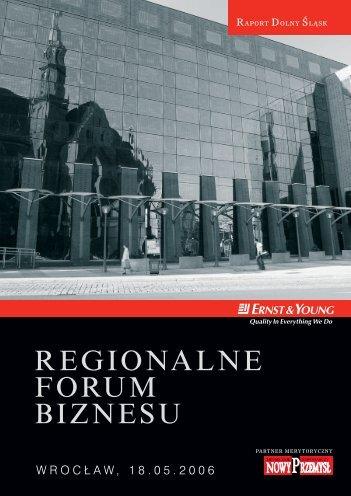 REGIONALNE FORUM BIZNESU - p.wnp.pl