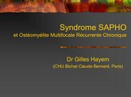Syndrome SAPHO