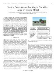Vehicle Detection and Tracking in Car Video Based ... - ResearchGate