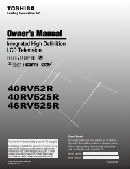 Toshiba 40RV525R PDF Manual - static.highspeedb...