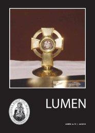 1 LUMEN nr. 73 | Juli 2010 - Sankt Mariæ Kirke