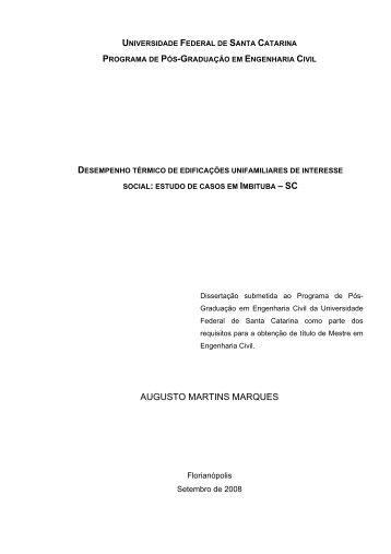 augusto martins marques - Laboratório de Eficiência Energética em ...