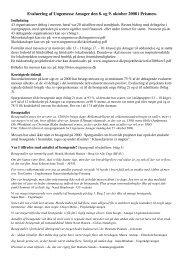 Evaluering af Ungemesse Amager den 8. og 9. oktober 2008 i ...